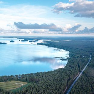 Lestijärvi, ilmakuva