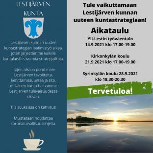 Tule vaikuttamaan Lestijärven kunnan kuntastrategiaan!